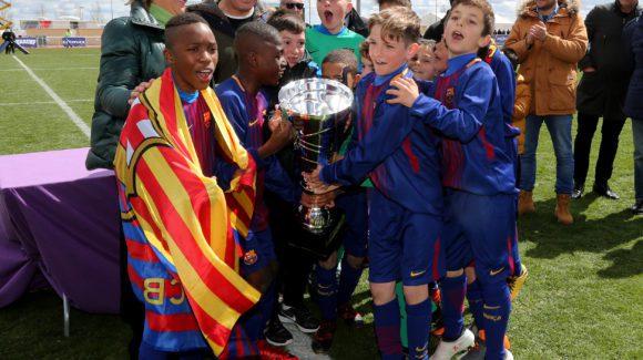 EL FC BARCELONA SE PROCLAMA CAMPEÓN EN LA PRIMERA FINAL CON UN CLÁSICO ANTE EL REAL MADRID